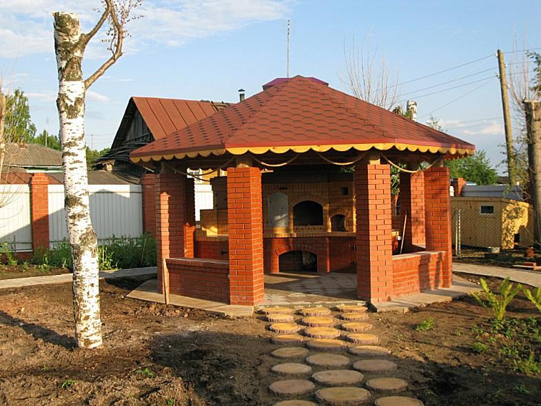 Строительтельство беседок барбекю мангалов, Луганск