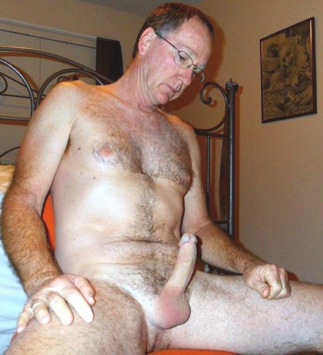Порно фото голый член деда