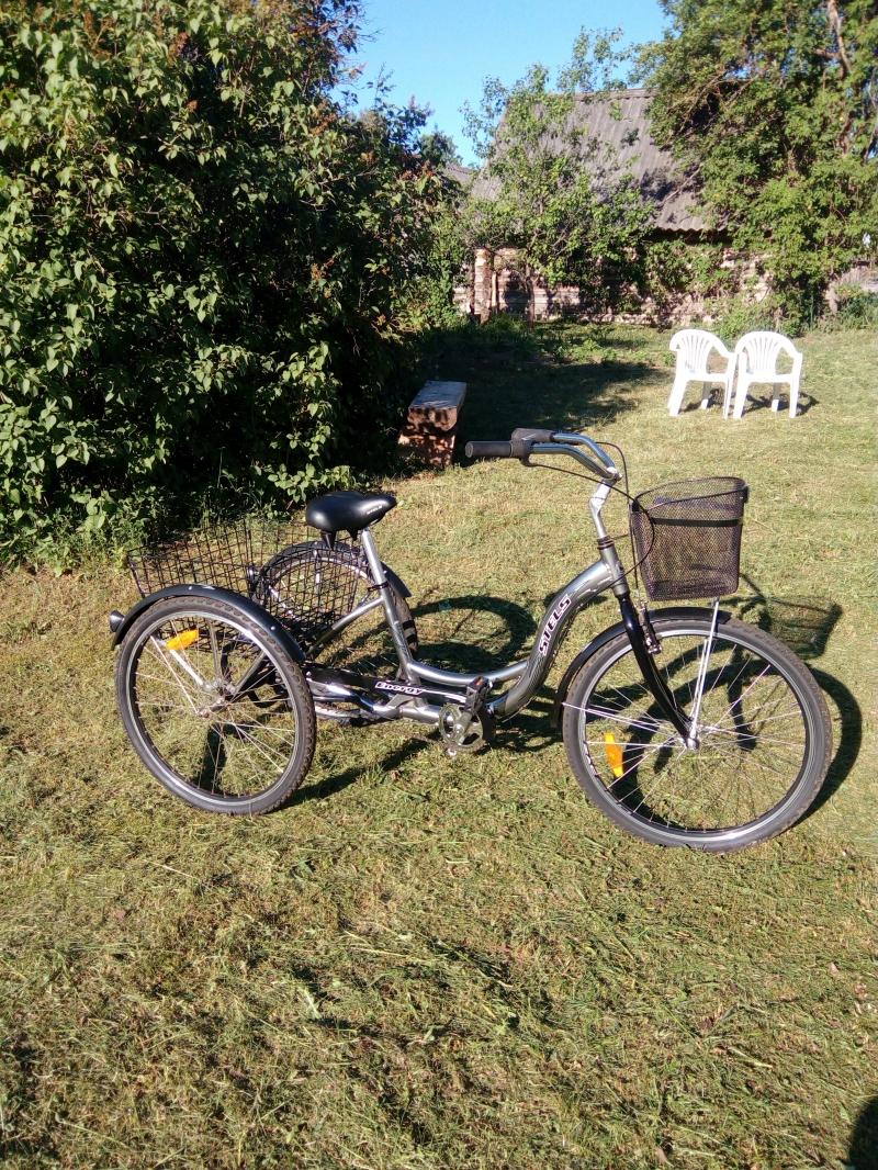 Продам взрослый трехколесный велосипед