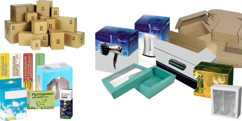 Изготовление картонных коробок любой сложности на заказ