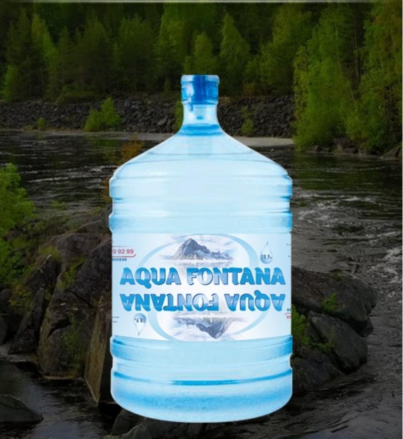 Вода AquaFontana артезианская